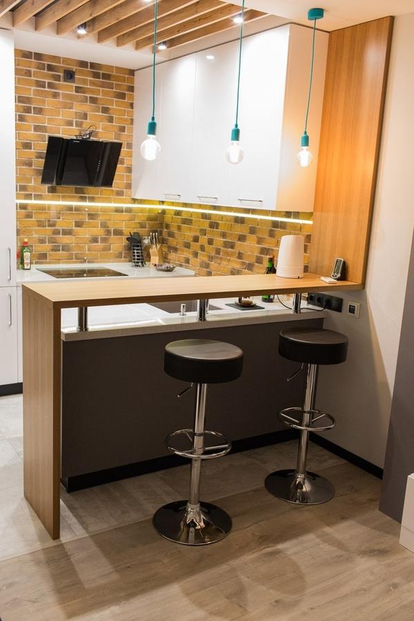 Купить желтую кухню-Кухня МДФ в пластике «Модель 12»-фото2