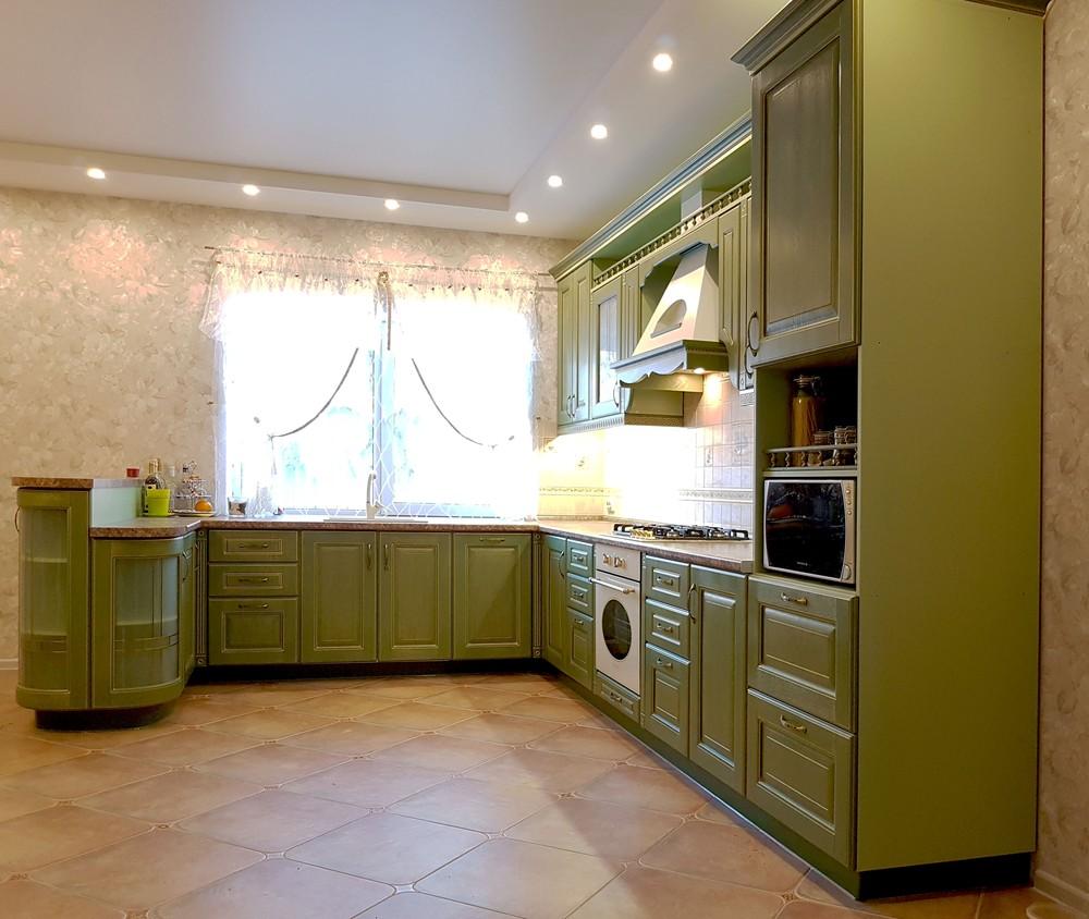 Дорогие и элитные кухни-Кухня из массива «Модель 23»-фото2
