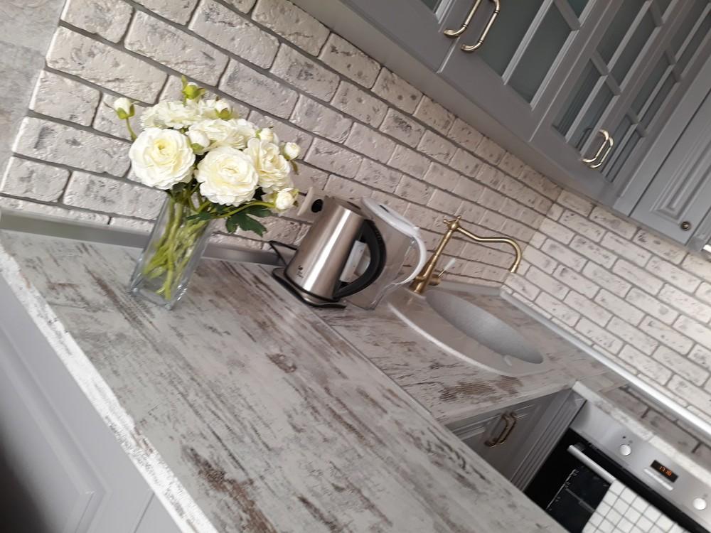 Встроенная кухня-Кухня МДФ в эмали «Модель 281»-фото8
