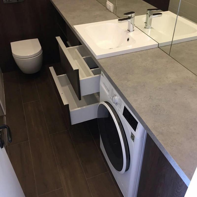 Мебель для ванной комнаты-Мебель для ванной «Модель 70»-фото3