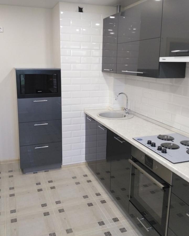 Акриловые кухни-Кухня из пластика «Модель 98»-фото3
