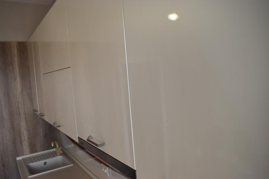 Белый кухонный гарнитур-Кухня МДФ в ПВХ «Модель 504»-фото14