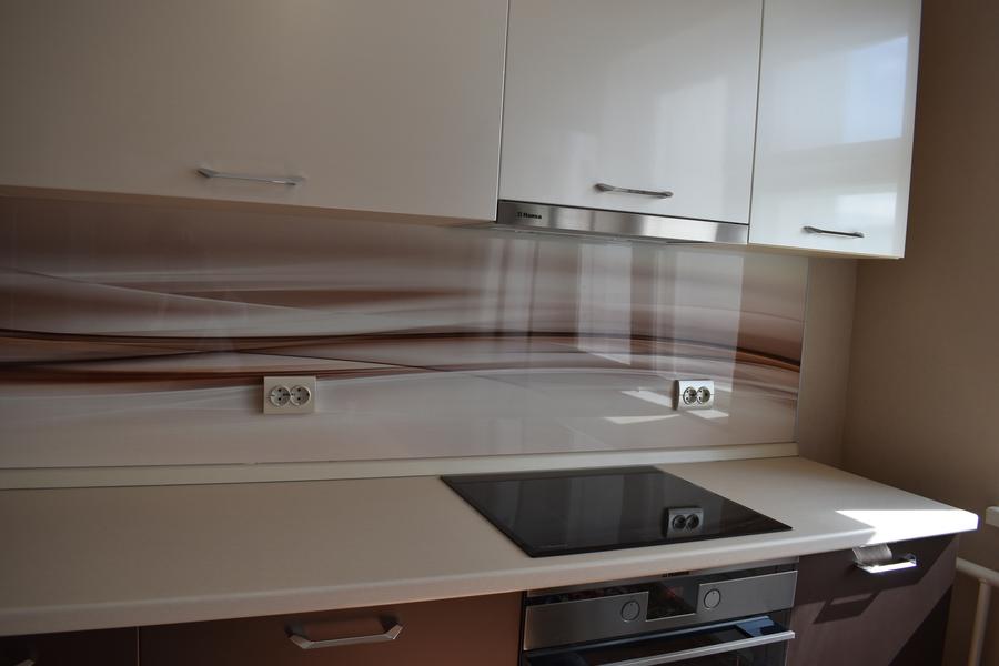 Белый кухонный гарнитур-Кухня МДФ в ПВХ «Модель 504»-фото6