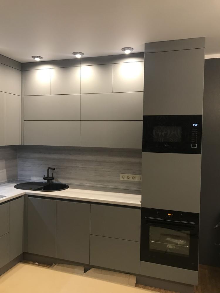 Купить кухню-Кухня МДФ в ПВХ «Модель 549»-фото2