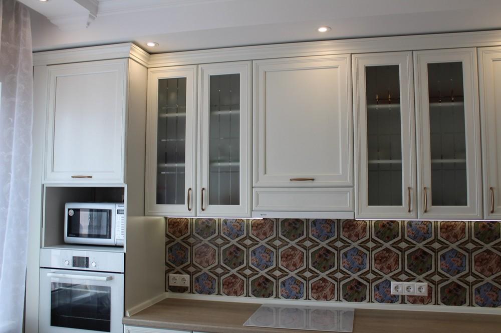 Акриловые кухни-Кухня из пластика «Модель 134»-фото5
