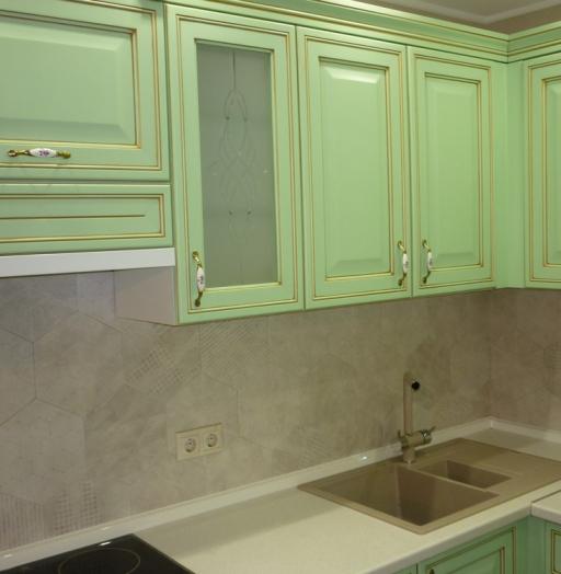 -Кухня МДФ в ПВХ «Модель 326»-фото2