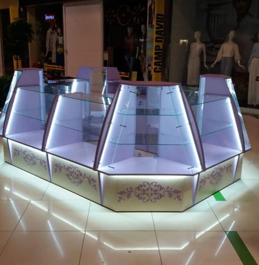 Торговая мебель-Торговый островок «Модель 232»-фото3
