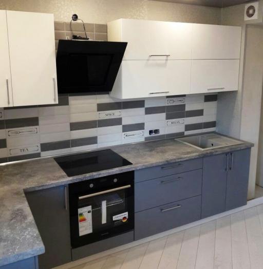 -Кухня из пластика «Модель 388»-фото24