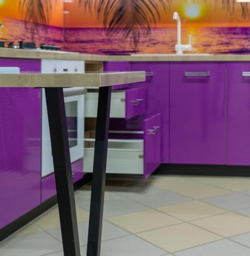 -Кухня МДФ в ПВХ «Модель 45»-фото19
