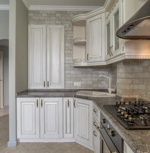 -Кухня из шпона «Модель 7»-фото2