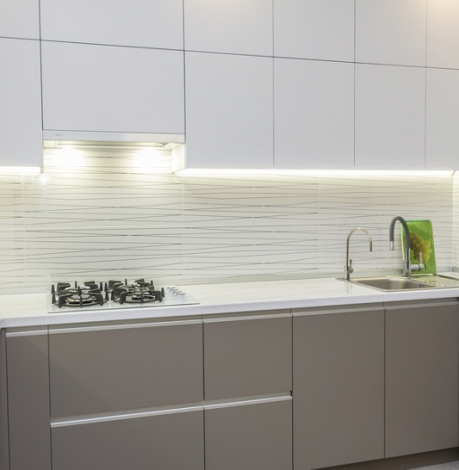 -Кухня МДФ в ПВХ «Модель 9»-фото3