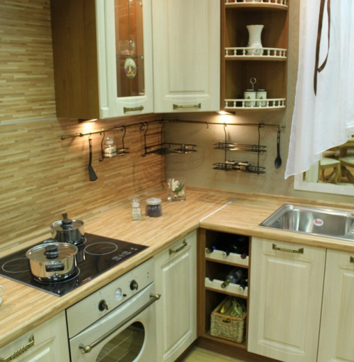 -Кухня МДФ в ПВХ «Модель 128»-фото11
