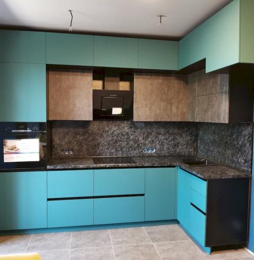 -Кухня МДФ в ПВХ «Модель 576»-фото7